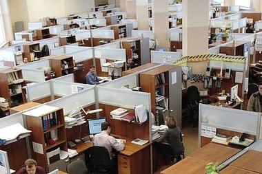 Переезд большой компании - от 50 рабочих мест